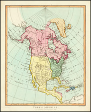 United States Map By John Wilkes
