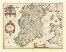 Ireland Map By Jan Jansson