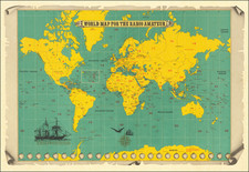 World and Pictorial Maps Map By Trio Kenwood Corporation