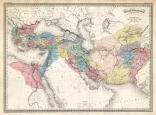 Europe, Europe, Turkey, Mediterranean, Asia and Central Asia & Caucasus Map By Adolphe Hippolyte Dufour