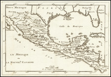 Florida, South, Texas and Mexico Map By Anonymous