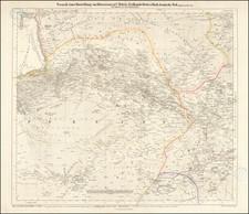 Persia & Iraq Map By Carl Ritter / Carl Zimmerman