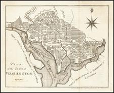 Washington, D.C. Map By Carl Jaettnig