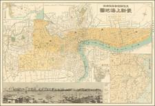 China Map By Osaka Daily News
