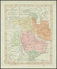Middle East, Arabian Peninsula and Turkey & Asia Minor Map By Daniel Djurberg / Anders Akerman