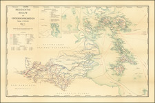Singapore and Indonesia Map By Topographische Inrichting