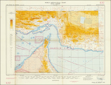 Middle East and Arabian Peninsula Map By Ordinance Survey Office