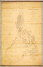Philippines Map By Philippine Bureau of Coast and Geodetic Survey