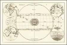 California as an Island and Celestial Maps Map By Anonymous