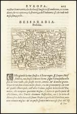 Poland Map By Abraham Ortelius