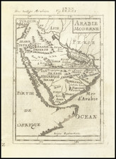 Middle East and Arabian Peninsula Map By Alain Manesson Mallet / Alain Manesson Mallet