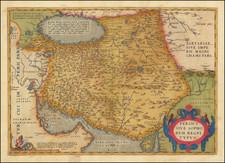Persia & Iraq Map By Abraham Ortelius