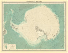 Polar Maps Map By John Bartholomew / Times Atlas