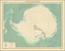 Polar Maps Map By John Bartholomew / Times Atlas