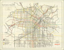 Los Angeles Map By Los Angeles Traffic Commission