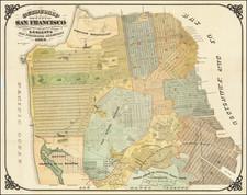 San Francisco & Bay Area Map By Britton & Rey