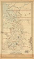 Washington and Canada Map By Baker, Balch & Co.