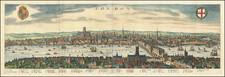London Map By Matthaeus Merian
