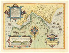 Polar Maps, Argentina and Chile Map By Gerard Mercator