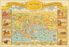 San Diego  The California Pacific International Exposition By Don Bloodgood