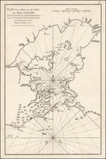 South America Map By Jean-Baptiste-Nicolas-Denis d'Après de Mannevillette