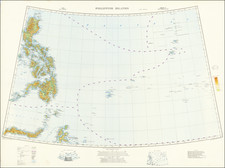 Philippines and World War II Map By War Office