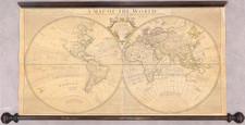 World Map By John Senex