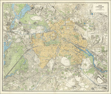 Germany, Russia and World War II Map By Leningrad Military Mapping Unit