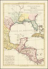 Texas Map By Rigobert Bonne