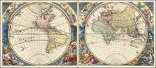 World Map By Johann Zahn