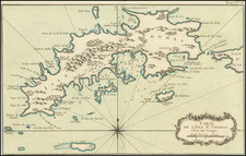 Virgin Islands Map By Jacques Nicolas Bellin
