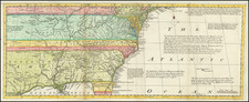 United States, South, Southeast, Texas, Midwest, Plains and Southwest Map By Thomas Bowen