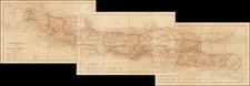 Indonesia Map By Topographische Inrichting