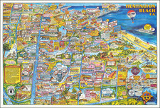 Los Angeles Map By Ranlee Publishing Inc.
