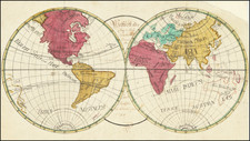 World Map By Joan. Baptista Schmid