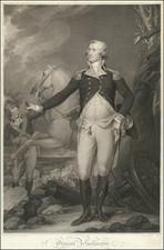 United States, Portraits & People and American Revolution Map By John Trumbull / Antonio De Poggi