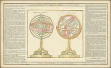 Celestial Maps Map By Louis Brion de la Tour