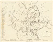 Plan of Ancient Rome.  By W.B. Clarke, Archt. By SDUK