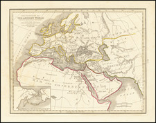 [Tracking Noah's Descendants] The Countries of The Ancient World Exhibiting The Probable Settlement of the Descendants of Noah . . .  By Thomas Gamaliel Bradford