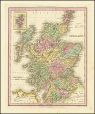 Scotland Map By Henry Schenk Tanner