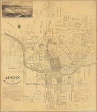 Texas Map By Bergen, Daniel & Gracy