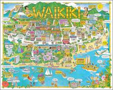 Hawaii Map By Chuck Davis