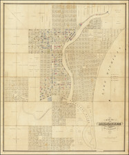 Wisconsin Map By Increase Lapham