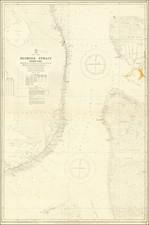 Florida and Bahamas Map By British Admiralty