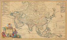 Asia and Oceania Map By Herman Moll