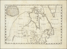 Polar Maps, Midwest, Plains, Pacific Northwest and Canada Map By Joseph La France
