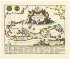 Bermuda Map By John Ogilby
