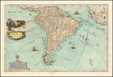 South America Map By Heinrich Scherer