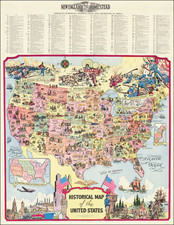 World, United States and Pictorial Maps Map By R. L. McCollister
