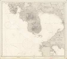 Philippines and World War II Map By U.S. Coast & Geodetic Survey / Philippine Bureau of Coast and Geodetic Survey